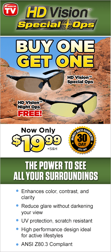 Order HD Vision™ Special Ops Now!